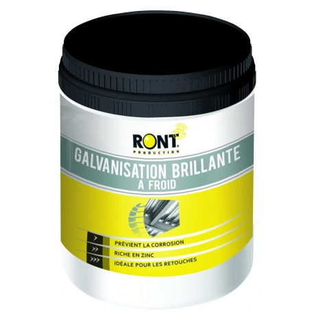 RONT PRODUCTION - GALVANISATION A FROID Brillante - 7280 - Ront Production