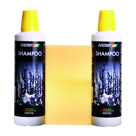 Shampooing brillant carrosserie